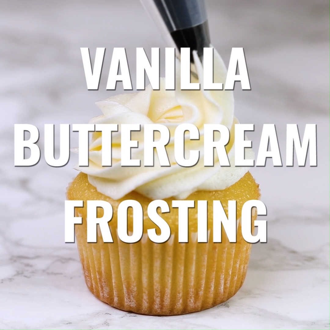 The Best Vanilla Buttercream Frosting #buttercream
