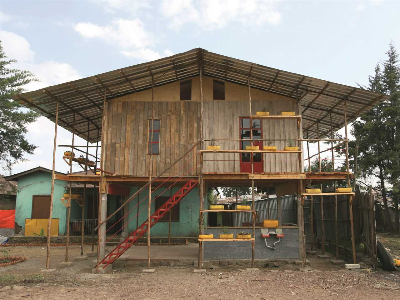 Incremental Construction Low Cost Modular Housing Scheme