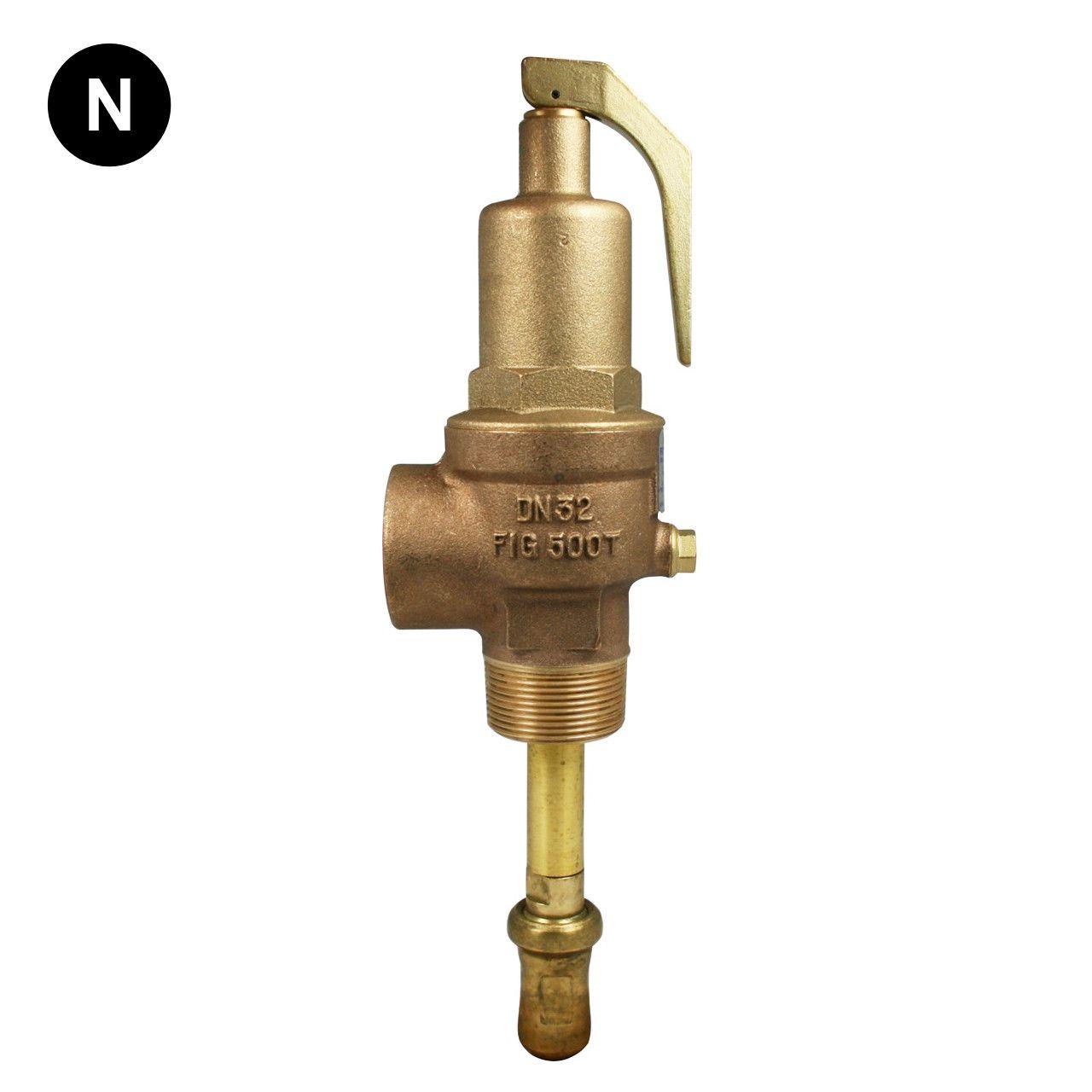 Nabic Fig 500t Combined Pressure Temperature Relief Valve Relief Valve Valve Fig