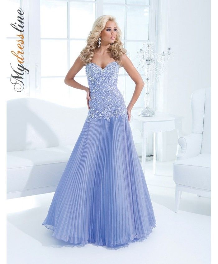 Tony Bowls Prom Dresses Periwinkle