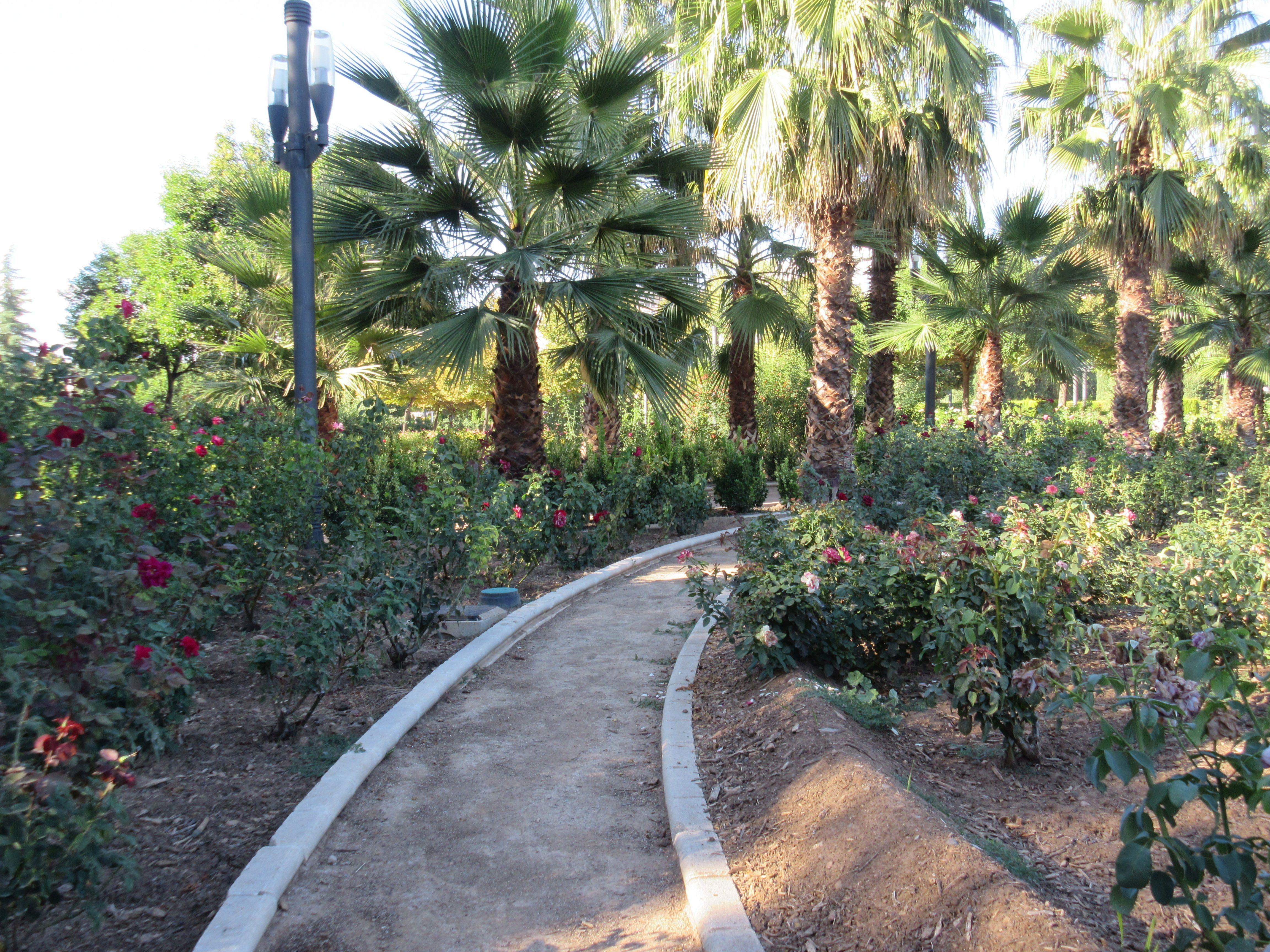 Parque Federico Garcia Lorca In Granada Spain Spanish Best