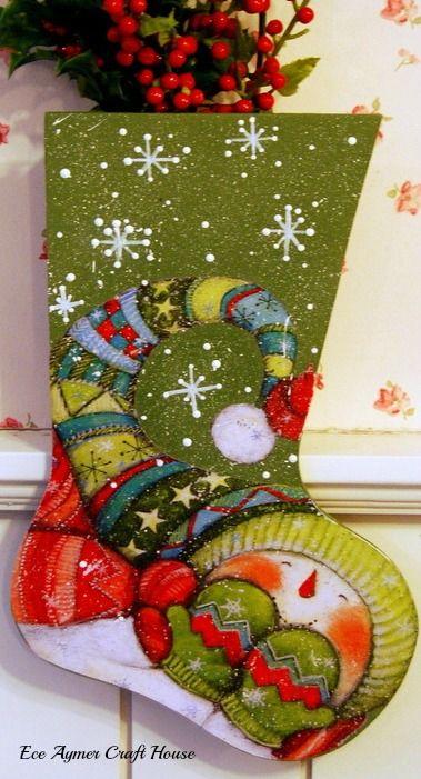 wwweceaymer Natal Pinterest Snowman, Stockings and Navidad