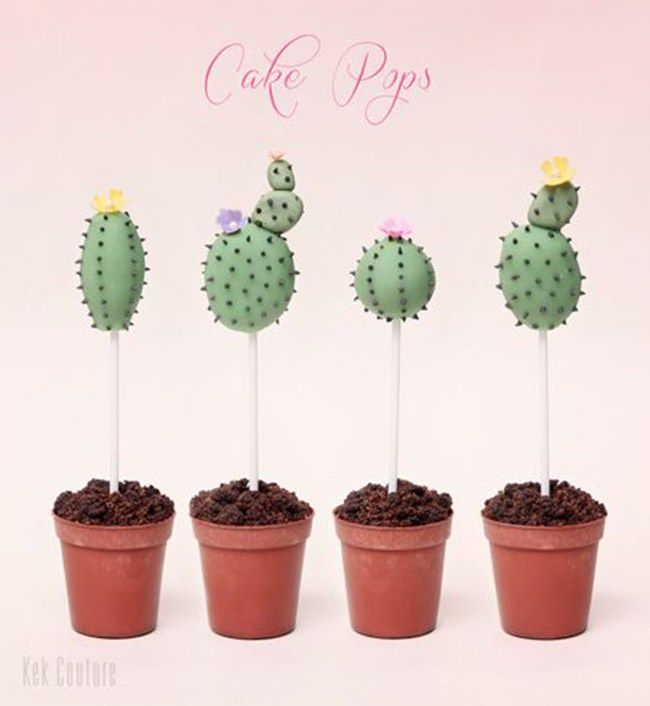 Cactus Party Ideas For Cinco De Mayo And Everything Else B Lovely Events Cactus Party Cactus Cake Cake Pops