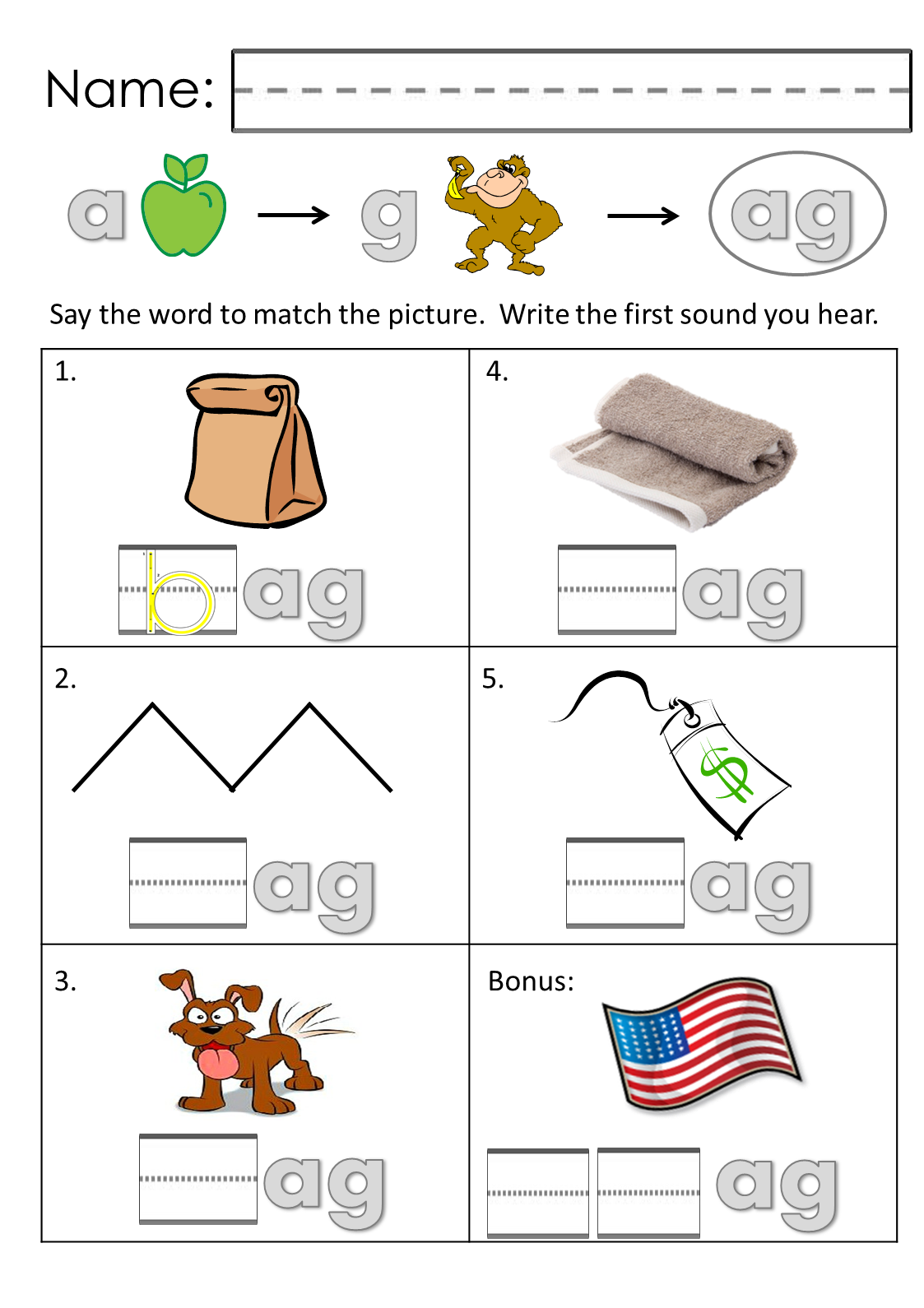 """Teach """"Short Aa"""" Word Family Recognition with these Great"""