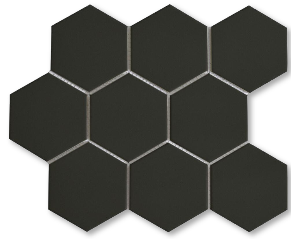 pin on 4 inch hexagon porcelain mosaic tile