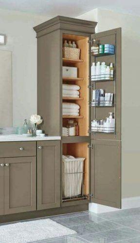 20 Clever Pedestal Sink Storage Design Ideas Bathroom Remodel