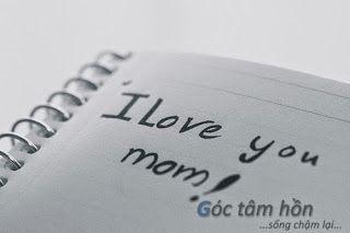 Con yêu mẹ !!! mẹ của con ơi