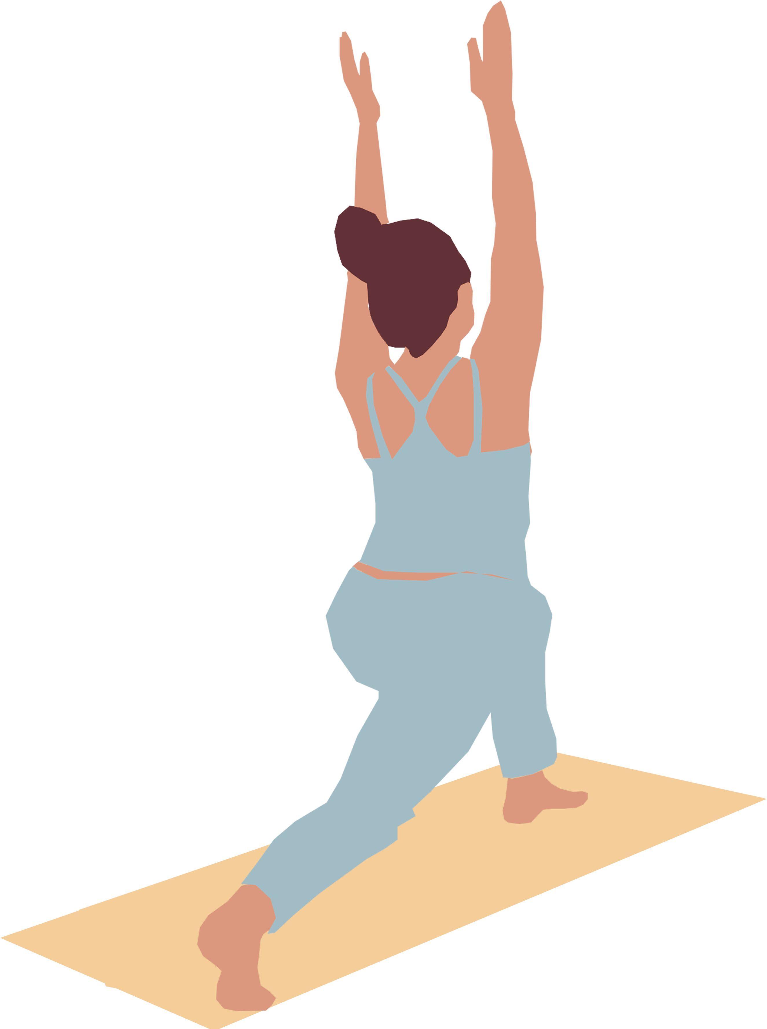 Flat People Woman Yoga In 2020 People Png Woman Yoga Yoga Illustration