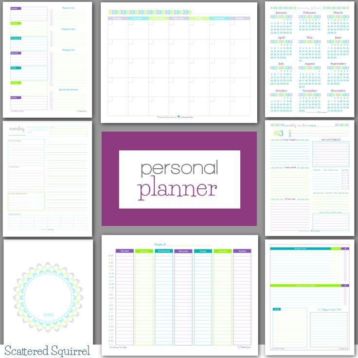 graphic relating to Free Personal Planner Printables referred to as Particular person Planner - Free of charge Printables Buy Ready Weekly