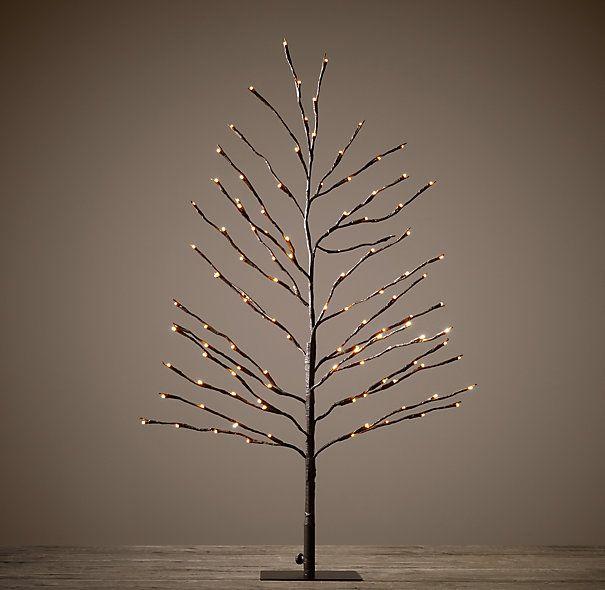 BARK STARLIT TREE - 3'- Restoration Hardware   for the house ...