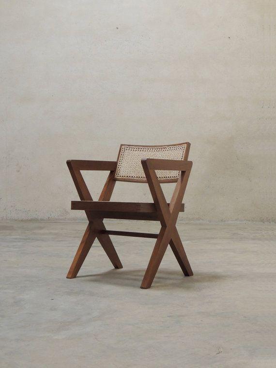 Pierre Jeanneret Cross Leg Chair X Legs Chair Design