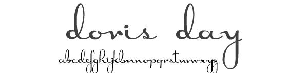 My Favorite Free Handwritten Cursive Fonts