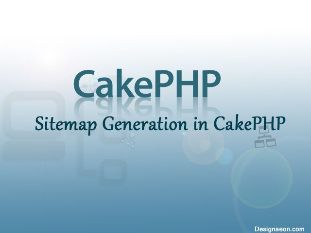 xml sitemap generation in cakephp cakephp pinterest