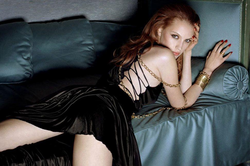 Vogue Italia Blue Sofa By Alex Cayley