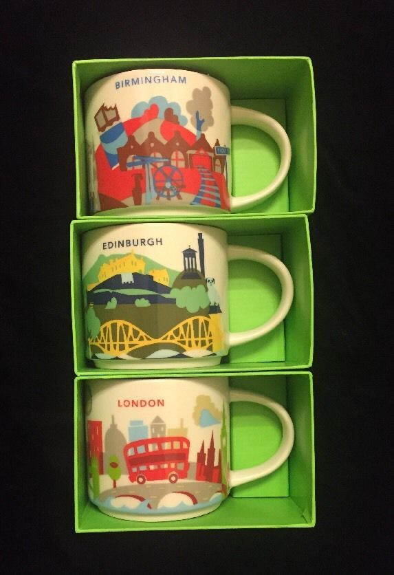 DiscountStarbucks Mug Details About England Yah Cup You Are Here n0OwP8kX