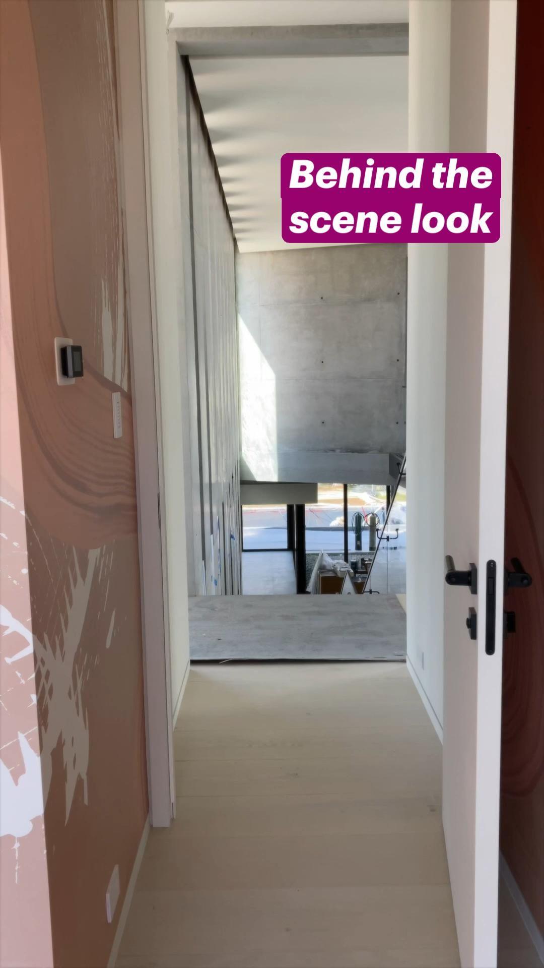 Behind the  scene look – Interior Design Project in Miami