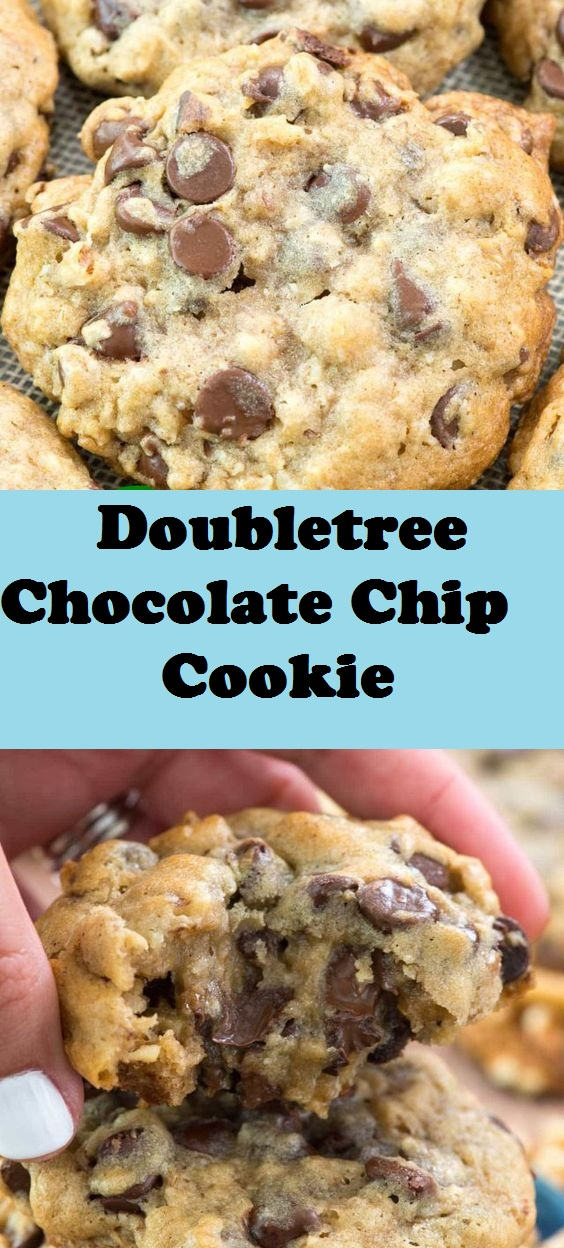 BETTER than Doubletree Chocolate Chip Cookie cookies