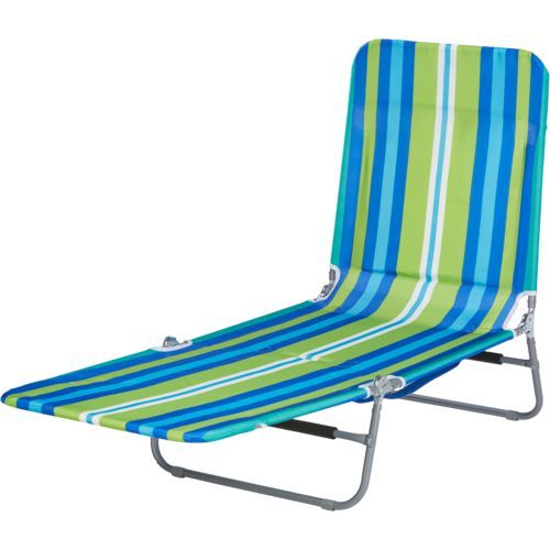 Rio Creations Ratchet Lounger With Backpack Beach Chairs