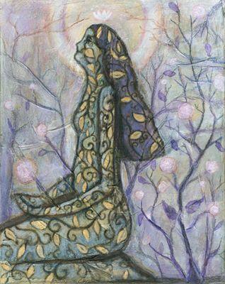Blue Tree - Art Gallery
