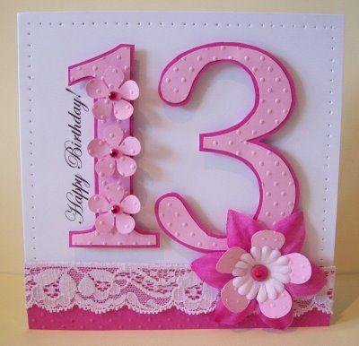 Birthday Girl Birthday Cards Handmade Birthday Cards Bday Cards