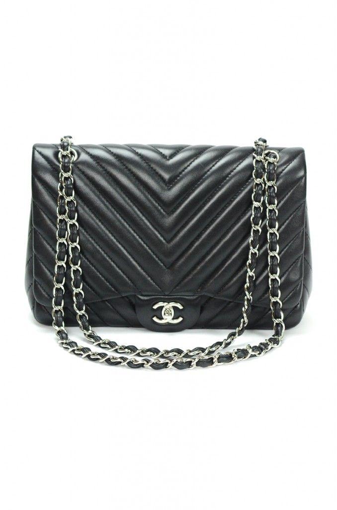 9008168b10a9 Chanel Lambskin Chevron Maxi Jumbo Single Flap Bag $3675 | Totes ...