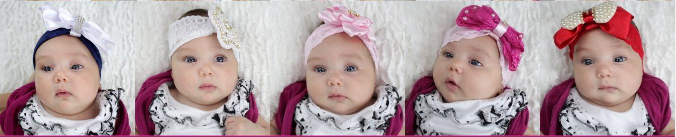 Curso de tiaras para bebê