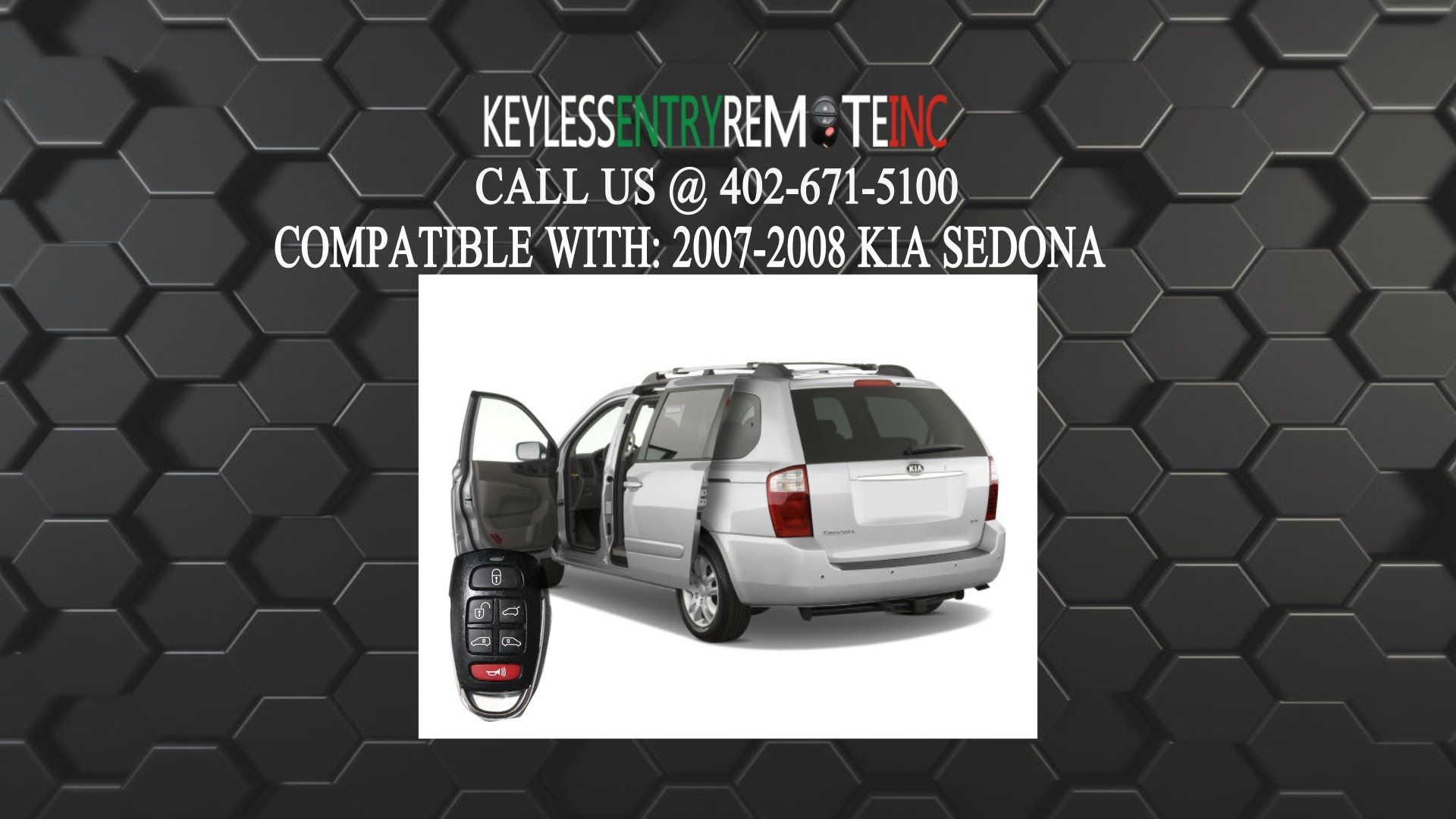 How To Replace Kia Sedona Key Fob Battery 2006 2014 Kia Sedona