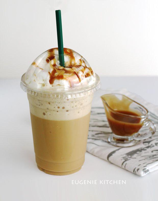 Starbucks Caramel Frappuccino CopyCat #ketofrappucinostarbucks