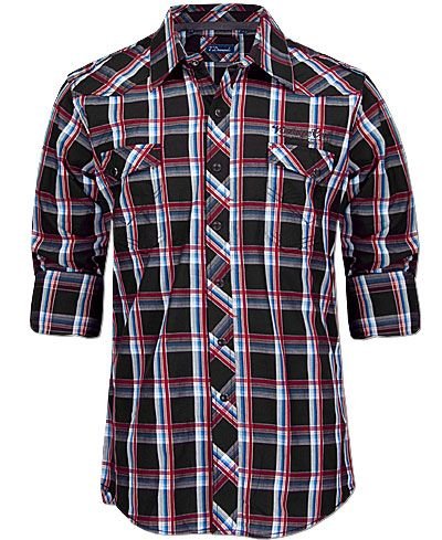 7 Diamonds New Country Snap Front Shirt - Buckle