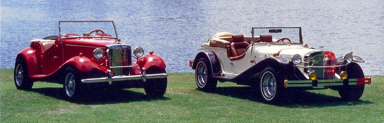 Mg And 1929 Mercedes Ssk Replica Cars Replica Cars Classic Motors Cool Cars