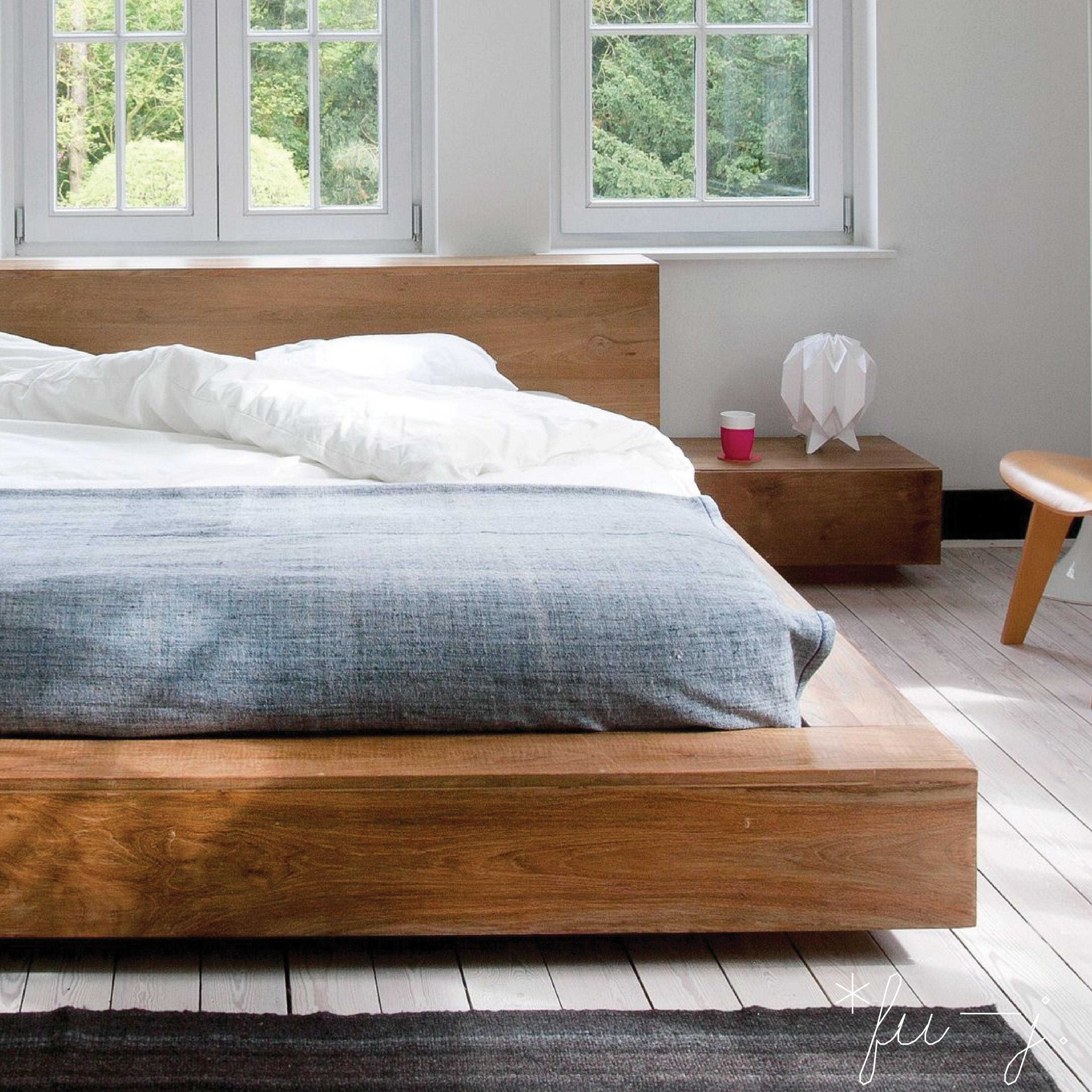 Teak Madra Bed. By Ethnicraft. #bed #headboard #bedframe #timber ...