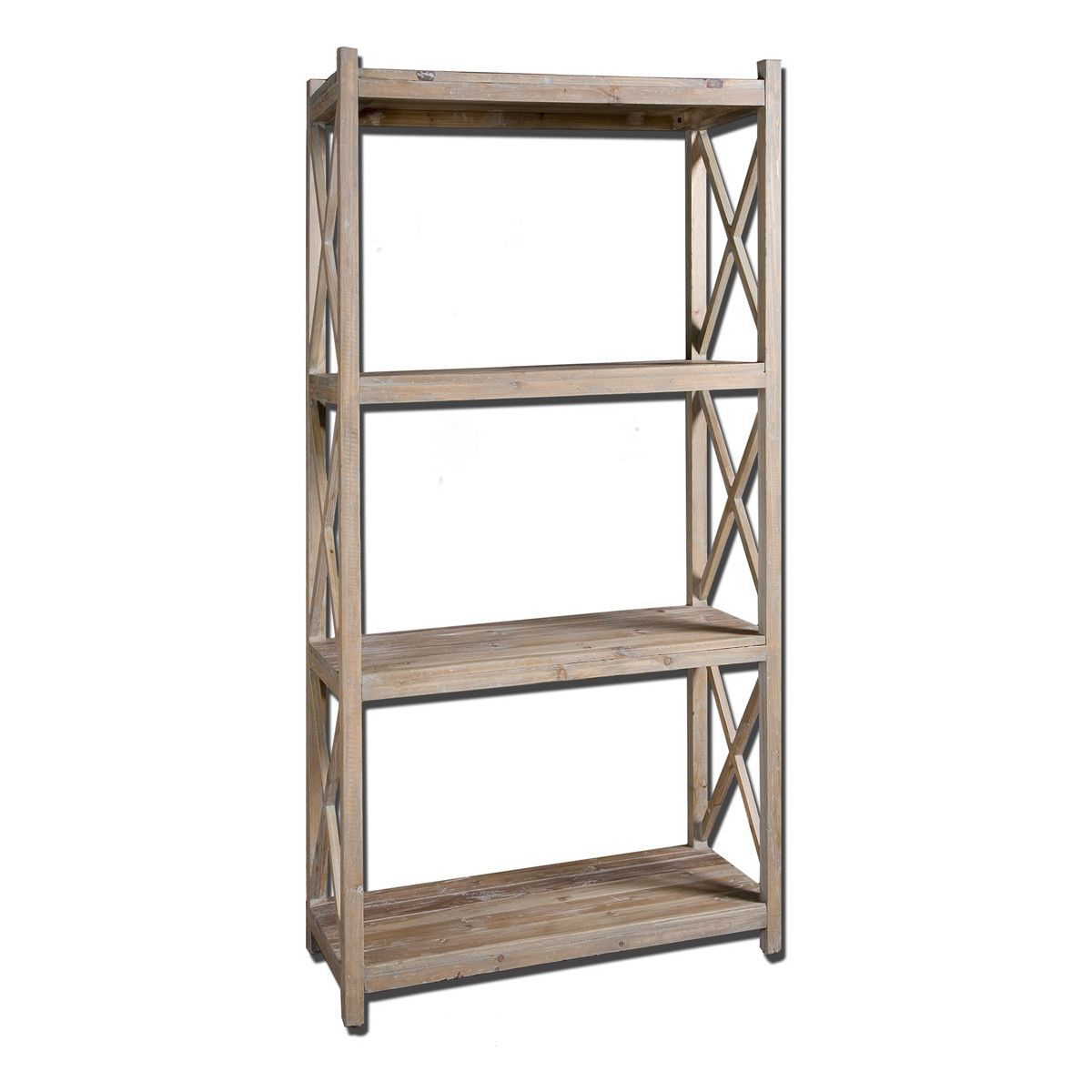 Stratford reclaimed wood etagere products