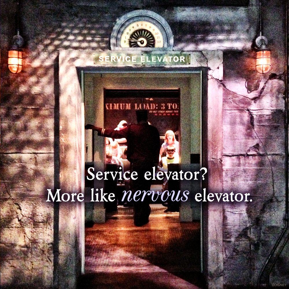Walk In Ominous Elevator Gateway