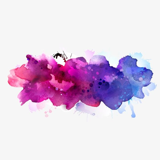 Colorful Vector Elements Brush Effect Gorgeous Watercolor Vector Paint Background Watercolor Paints Png Transparent Clipart Image And Psd File For Free Downl Watercolor Splash Paint Background Watercolor Galaxy