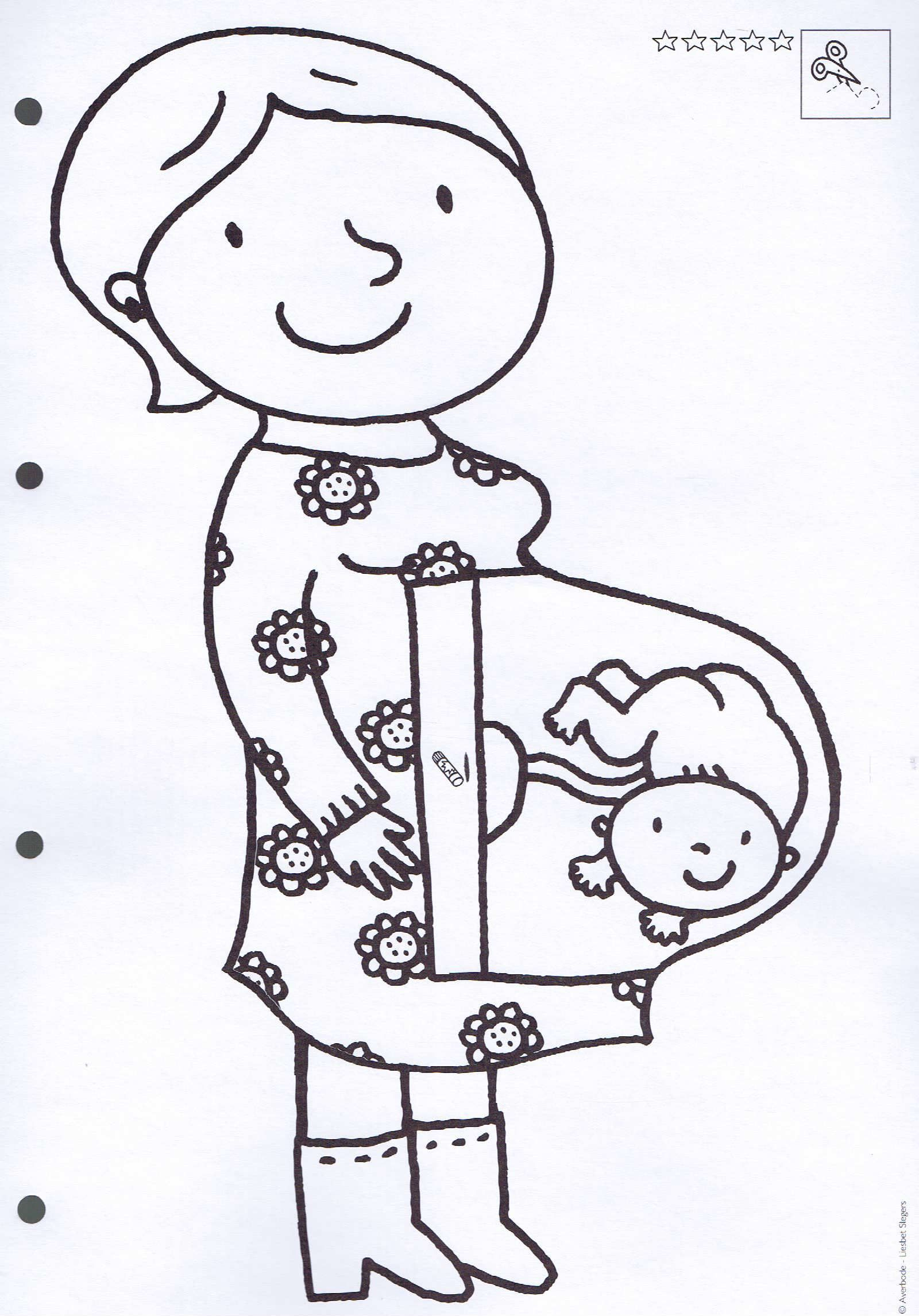 pin marleen everaert op familie knutselen thema baby