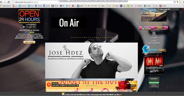 Nouveau site de la radio deephouse.top
