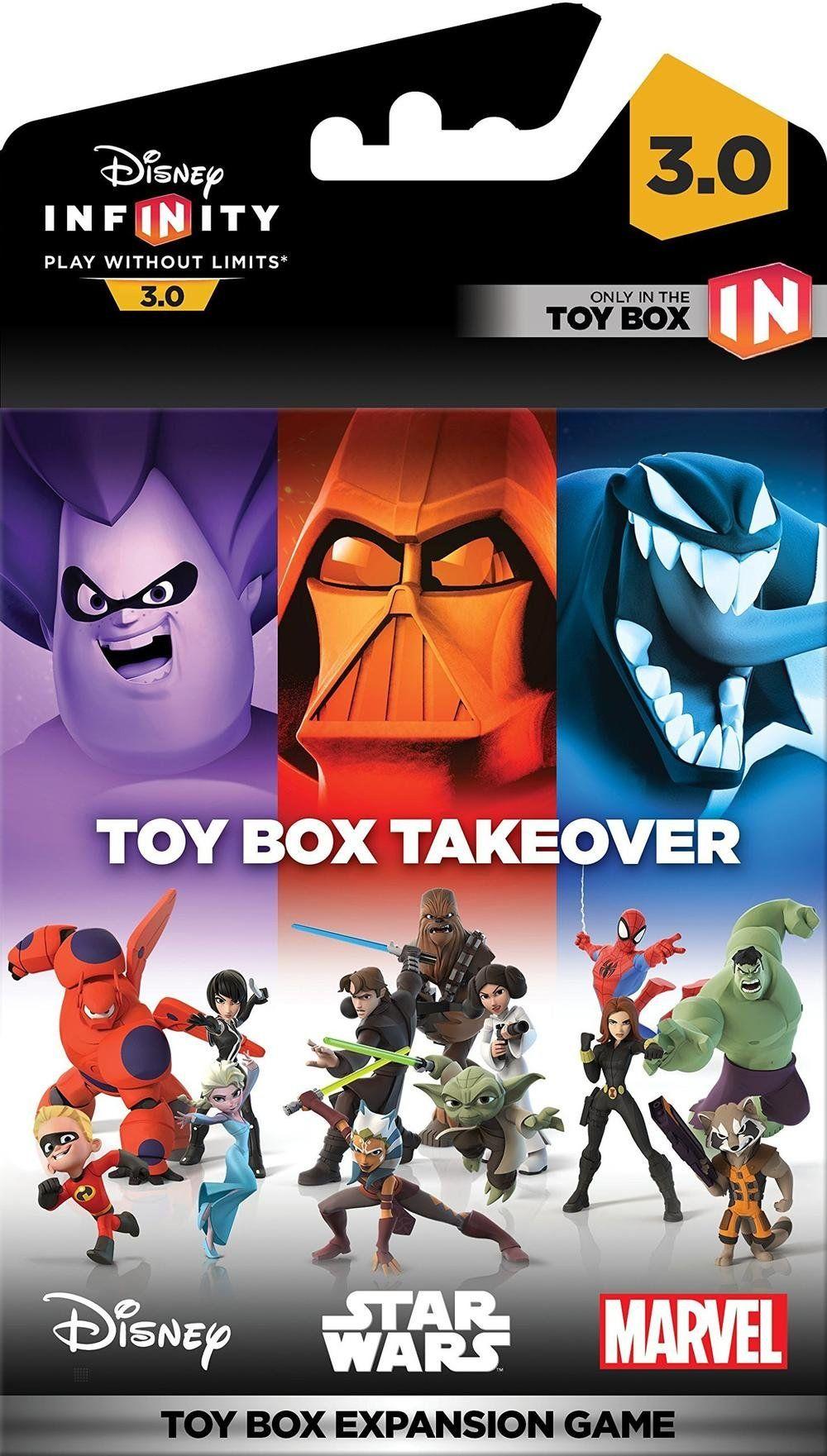 First Disney Infinity 3.0 Toy Box