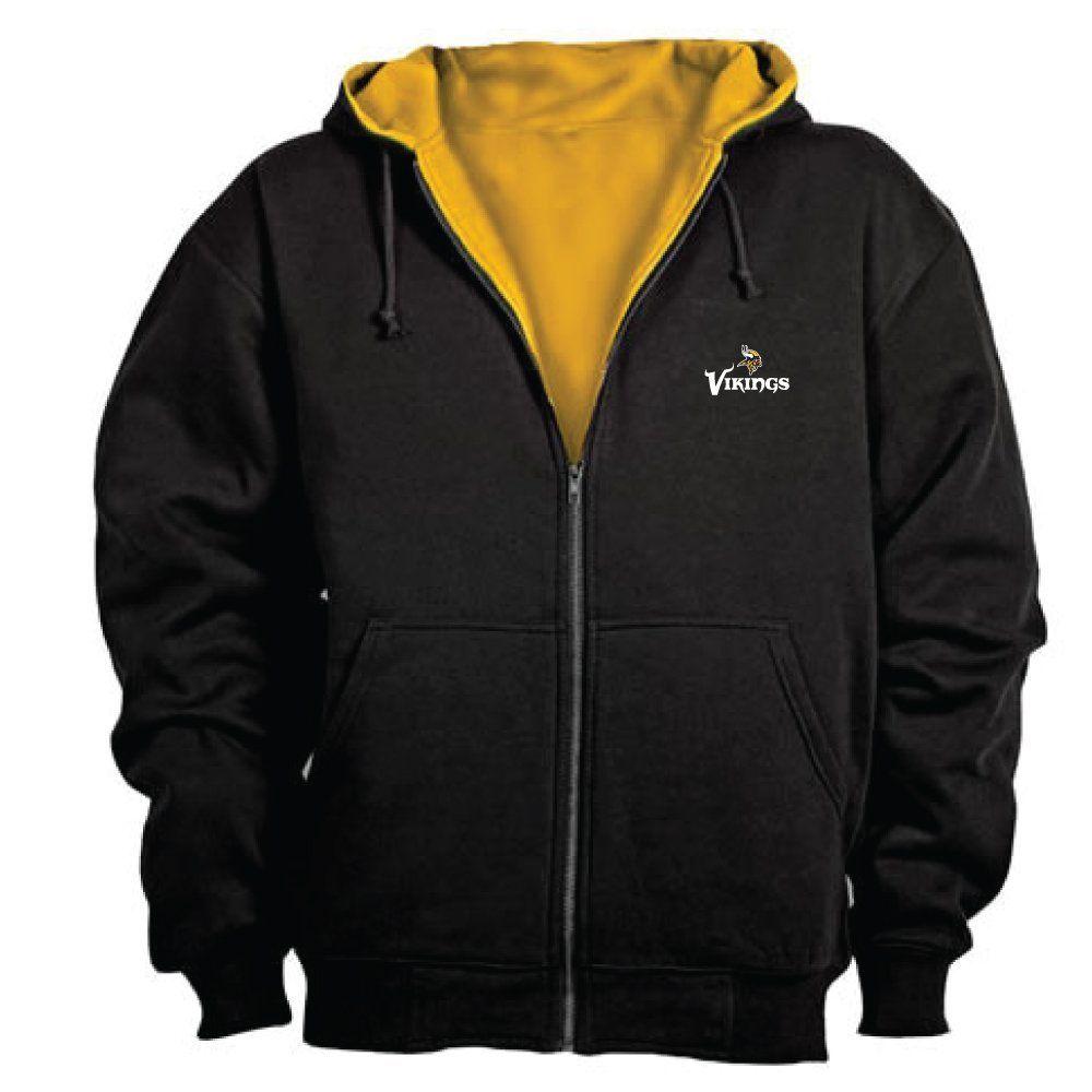 524b81fc0 Amazon.com   NFL Minnesota Vikings Mens Craftsman Full Zip Thermal Hoodie