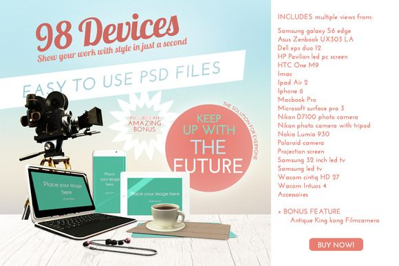 Device Mockup bundle by PLONIE on Creative Market