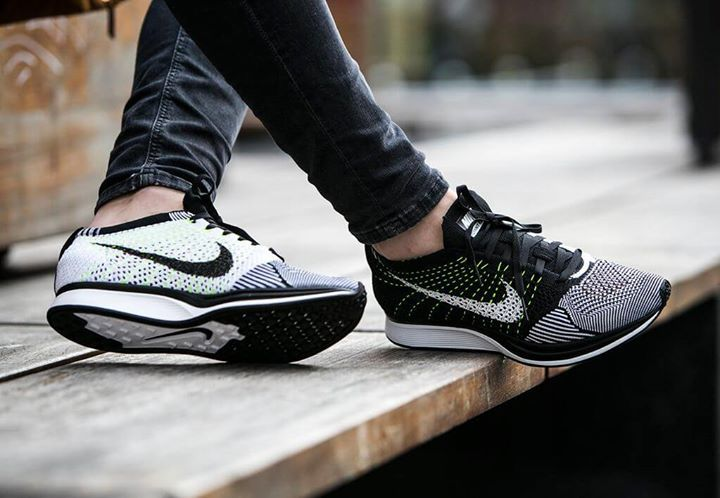 a5b1afb326b4 Nike Flyknit Racer Black White almost sold out at JD but re-releasing via  Nike