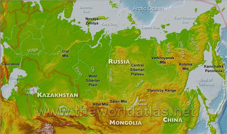 Ural Mountains | Geography map quiz, World geography ...