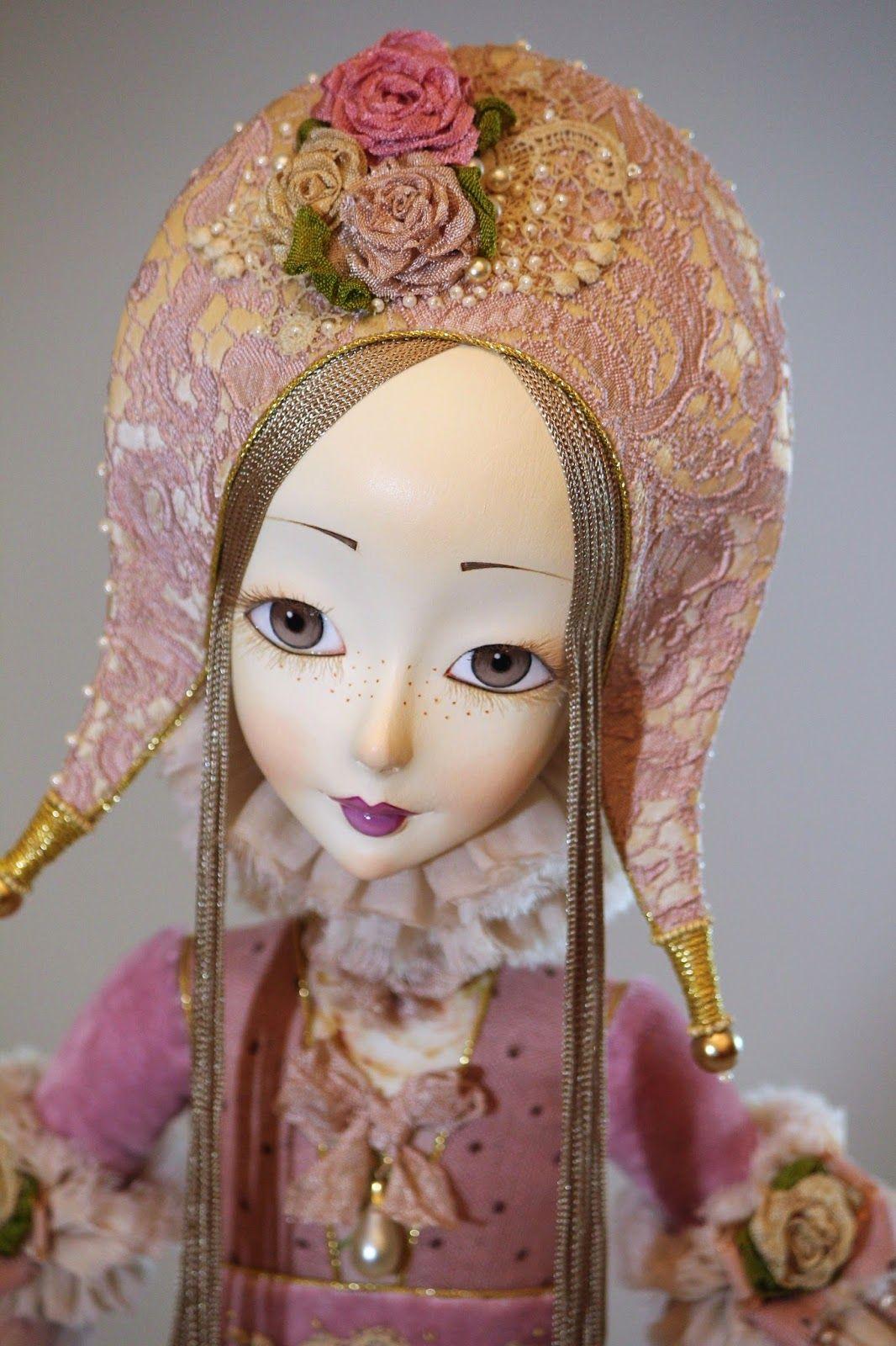 Кукольная мастерская ANNADAN: Механическая кукла Цветочная карусель.