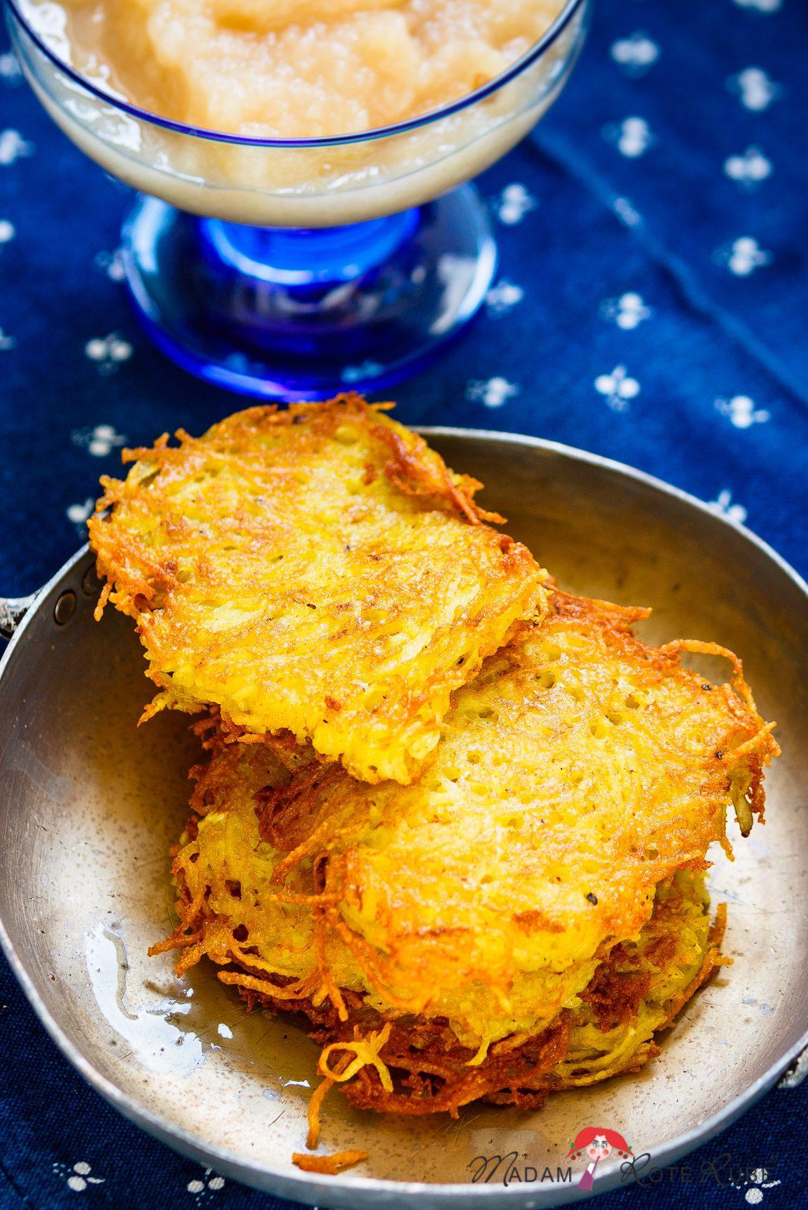 Kartoffelpuffer Mit Apfelmus Heimat Auf Dem Teller Madam Rote Rube Die Landkuche Rezept Kartoffelpuffer Mit Apfelmus Kartoffelpuffer Apfelmus