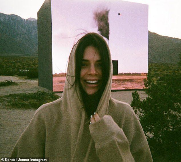 Kendall Jenner sports a bikini and cooks with mom Kris in Palm Springs