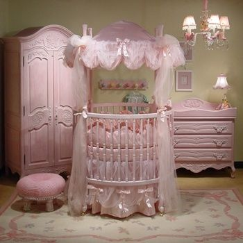 Pink Nursery Furniture But In Lavender Or A Pretty Turquoise