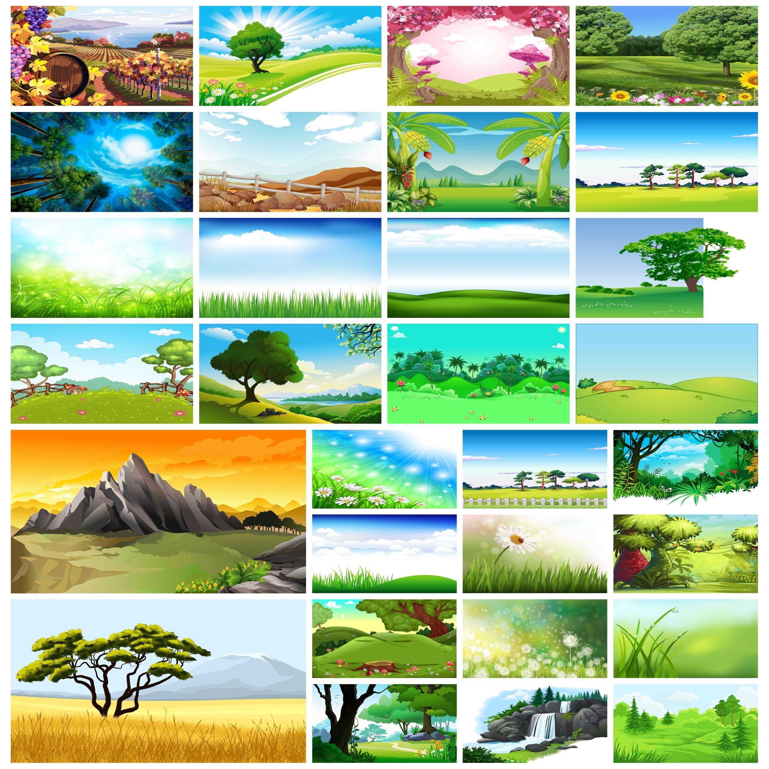 خلفيات الربيع ذات المناظر الطبيعية لعروض البوربوينت In 2021
