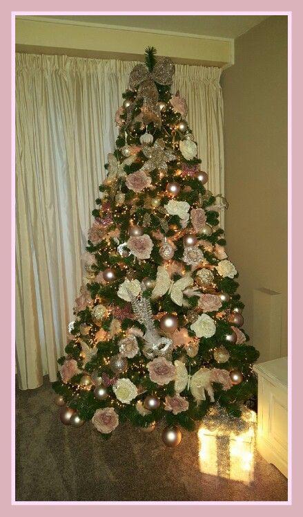 Mijn Roze Kerstboom Met Afbeeldingen Kerstboom Versieringen Kerstboom Roze Kerstversiering