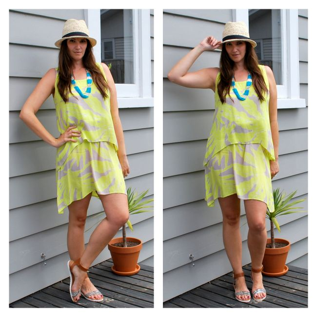 Wearing this layered dress from #ezibuy more casually - read more over on the blog