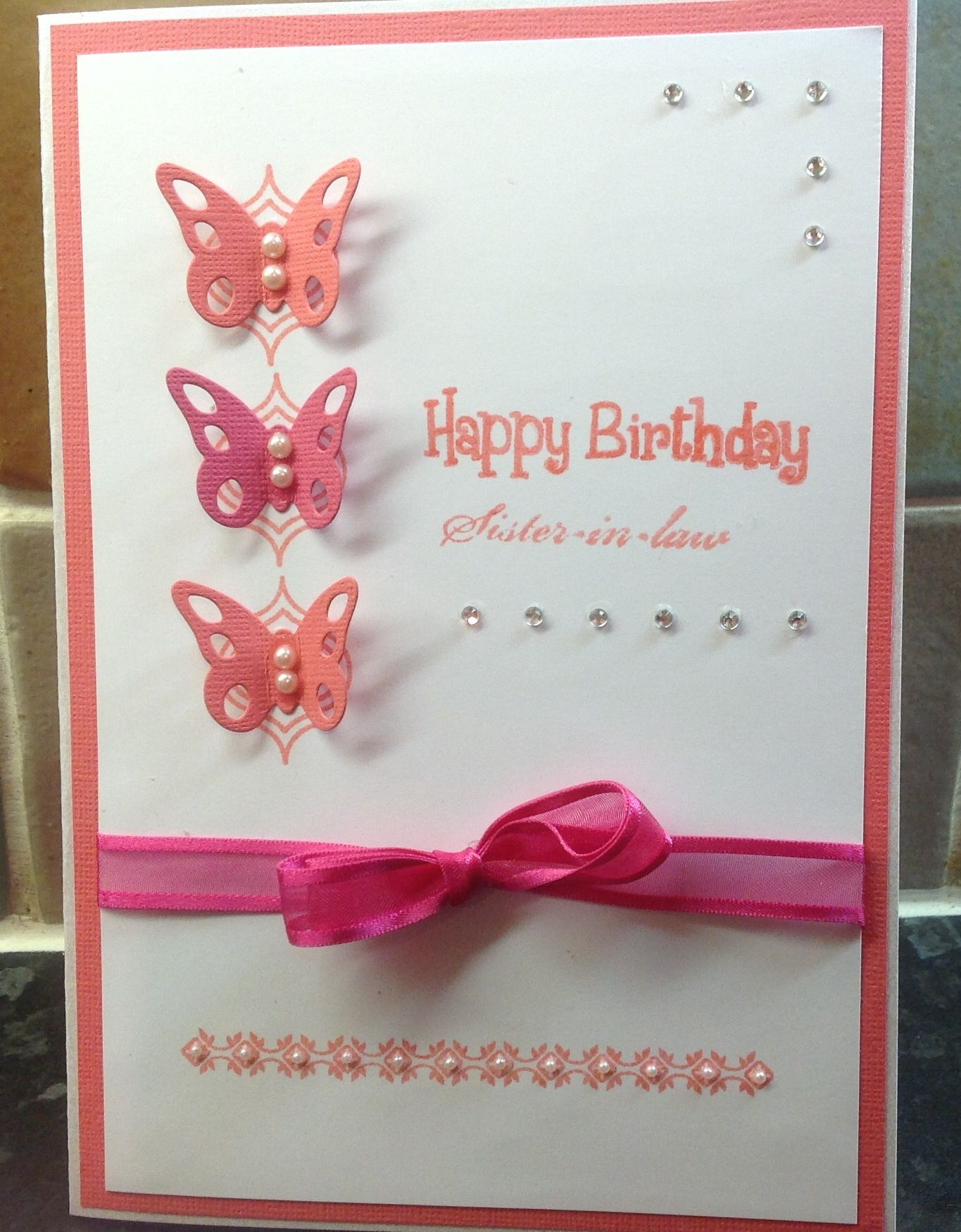 A Birthday Card For My Sister In Law