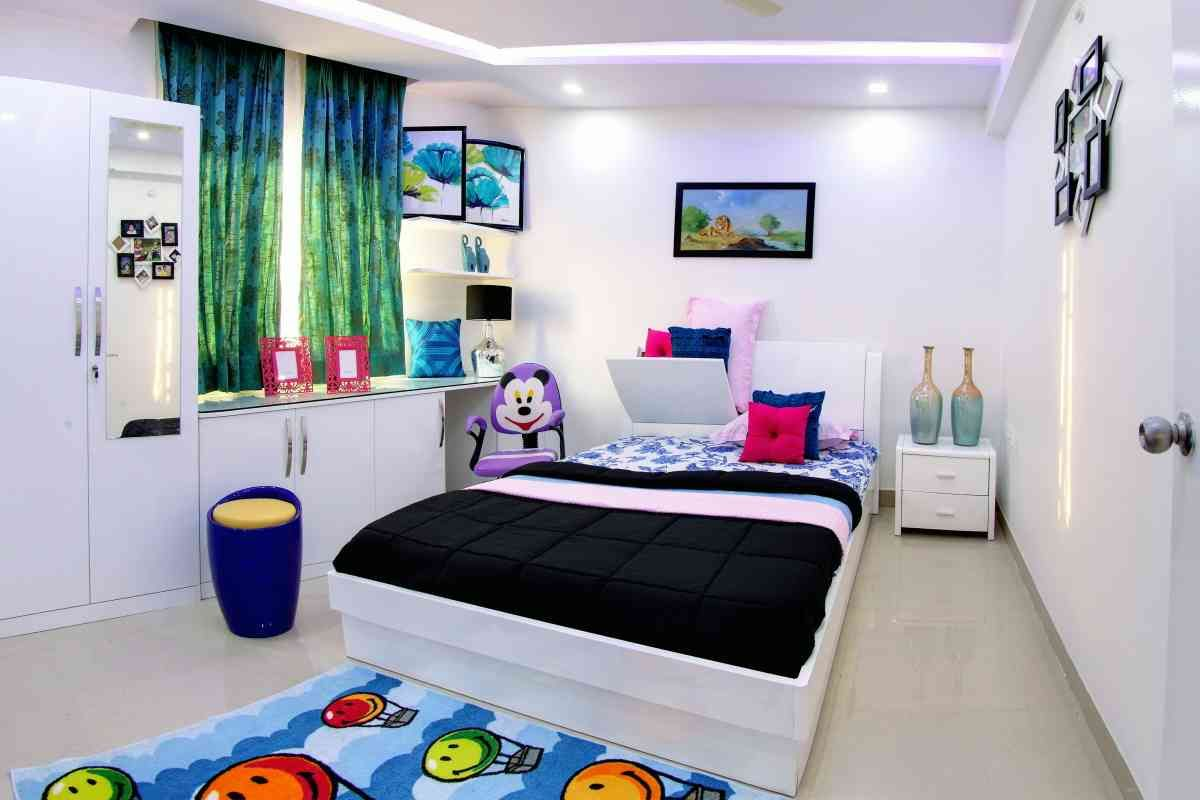 Zingyhomes Kids Bedroom Designs Flat Interior Interior Designers In Hyderabad